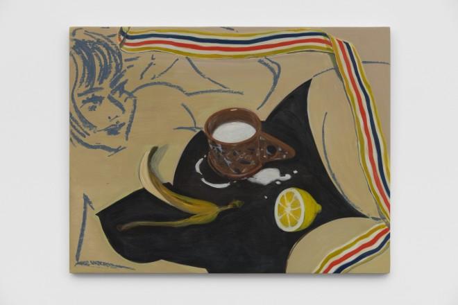 "<div class=""artist"">Ella Kruglyanskaya,<em>Lemon, Peel, Milk</em>, 2019</div>"