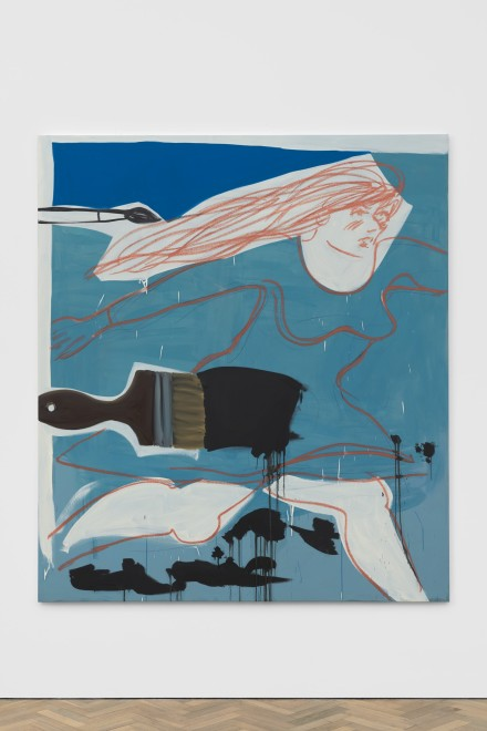 <p>Ella Kruglyanskaya, <em>Running Ink</em>, 2020</p>