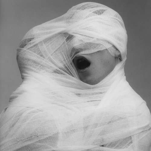 Robert Mapplethorpe  White Gauze, 1984  Stamped and signed by the Robert Mapplethorpe Estate  Silver gelatin print  Paper size: 50.8 x 40.6 cms / 20 x 16 ins  Edition 1/10