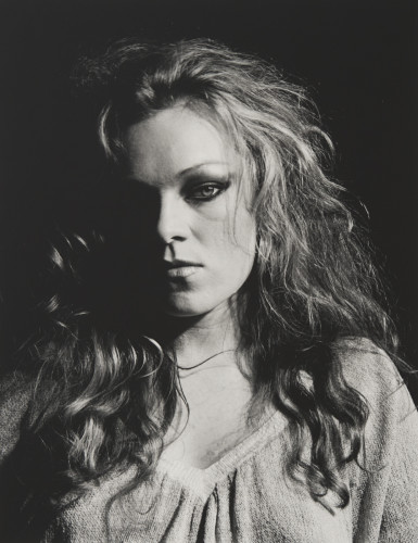 Robert Mapplethorpe  Cookie Mueller, 1978/2016  Silver Gelatin Print  50.8 x 40.6 cm, 20 x 16 ins  Edition 6/10