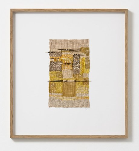 Sheila Hicks  Colsa, Mur, Mur, Mur, 2013  Signed and dated on verso  Silk, cotton, porcupine quills  23.5 x 14 cm / 9 1/4 x 5 1/2 ins