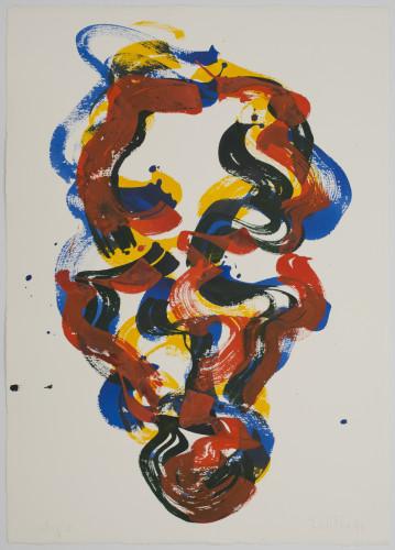 B.C. Series: Self-Portrait, August 2, 1990