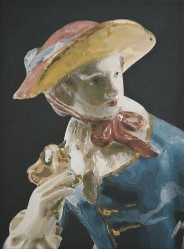 Mathew Weir  Abattoir, 2013  oil on canvas mounted on board  27 x 20 cm /10 5/8 x 7 7/8 ins