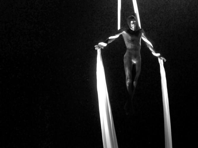 Oswaldo Macia Equilibrium, 2010 (still) 16mm film transferred to DVD 4 channel soundtrack 6 mins