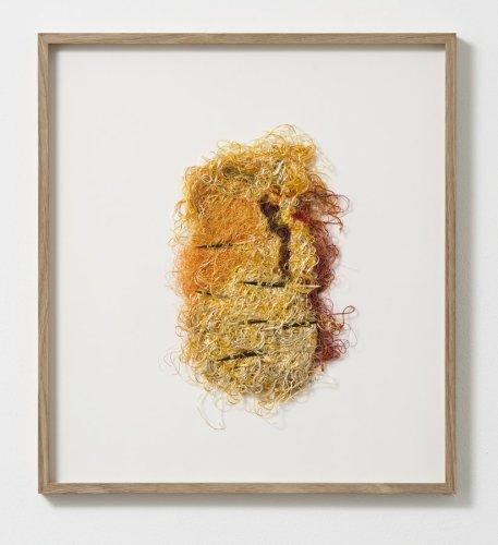Sheila Hicks  SLRL, 2012  Silk thread, porcupine quills  29.5 x 20 cm / 11 5/8 x 7 7/8 ins