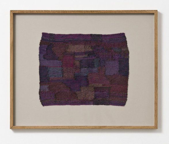 Sheila Hicks  Rossignol / Nightingale - The Night Birds Song, 2002  Cotton, wool, steel fibre  32 x 26 cm / 12 5/8 x 10 1/4 ins