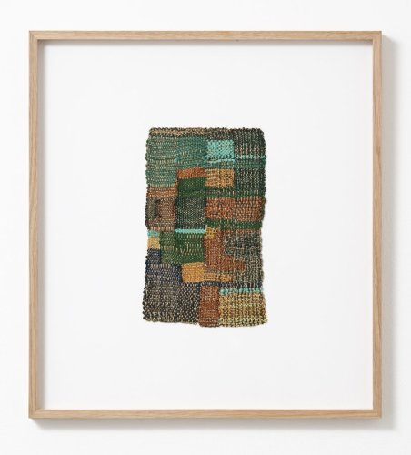 Sheila Hicks  Cluny, 2010  Cotton, wool, steel fibre  23.5 x 14 cm / 9 1/4 x 5 1/2 ins