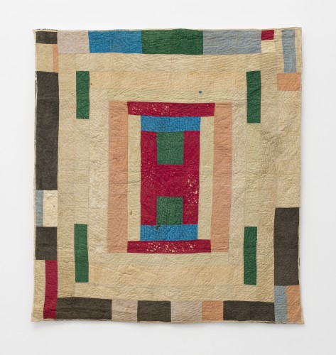 America Irby, Center Medallion, c. 1940. Corduroy. 210.8 x 193 cm, 83 x 76 ins. © America Irby / Artists Rights Society (ARS), New York and DACS, London