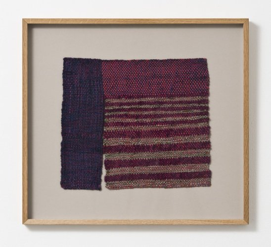 Sheila Hicks  Pontivy, 2010  Wool, cotton, linen  25.5 x 30 cm / 10 1/8 x 11 3/4 ins