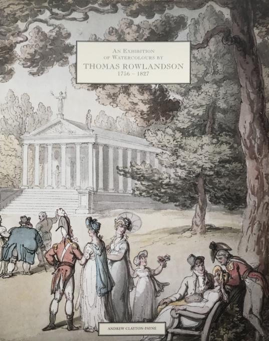 AN EXHIBITION OF WATERCOLOURS BY THOMAS ROWLANDSON