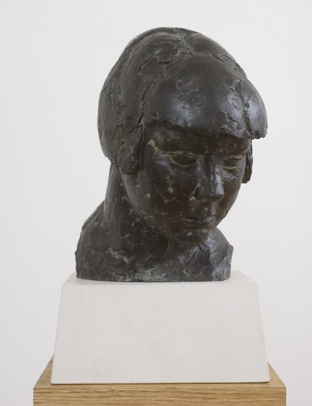 Head of a Girl (Study for Cornucopia)