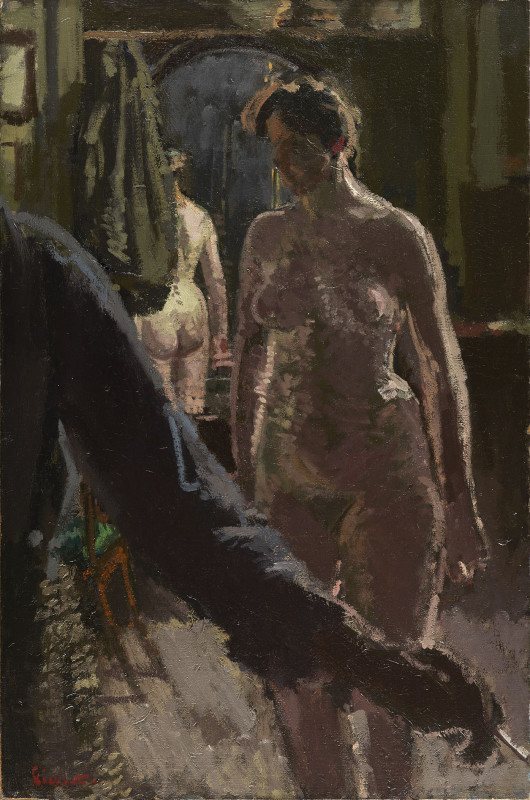 The Studio: The Painting of a Nude