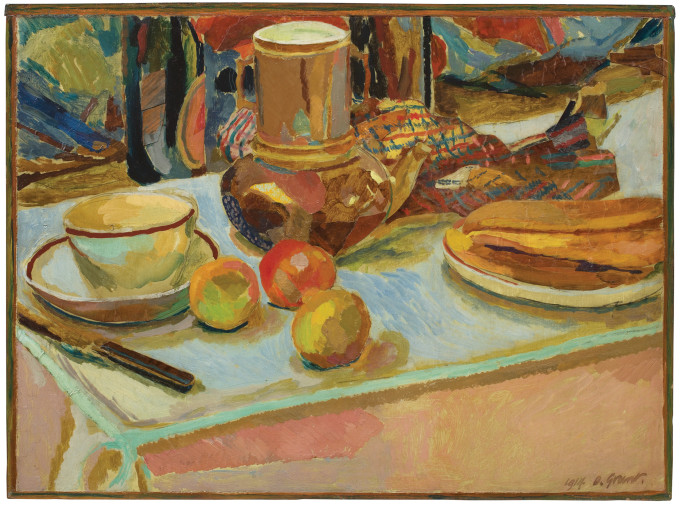 Still life with Fruit and Coffee-pot