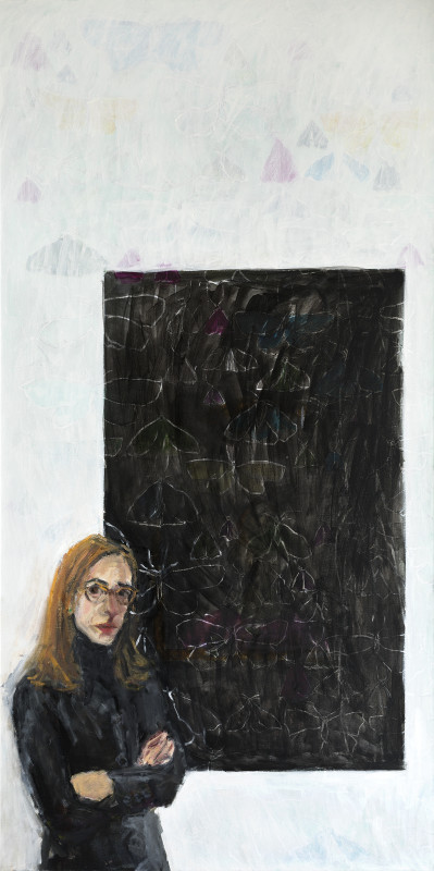 "<span class=""artist""><strong>Julie Held</strong></span>, <span class=""title""><em>Veiled Self Portrait</em>, 2017</span>"