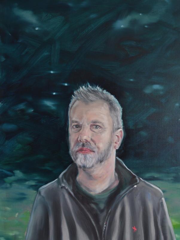 "<span class=""artist""><strong>Peter Monkman</strong></span>, <span class=""title""><em>Self Portrait as Changeling</em>, 2017</span>"