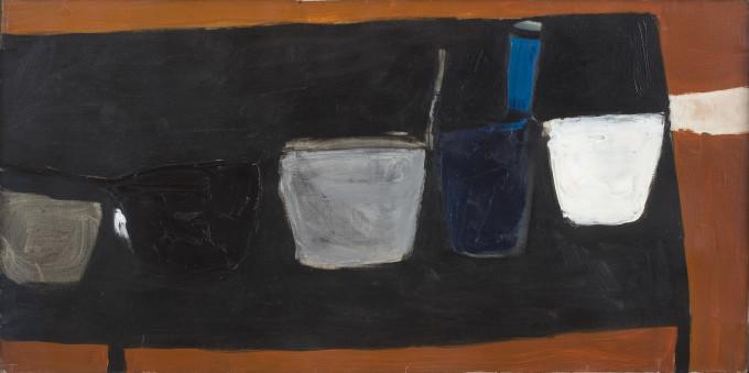 Still Life on Black Table (II)