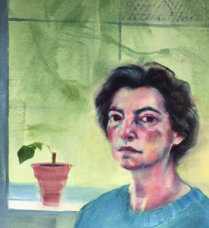 "<span class=""artist""><strong>Laura Gressani</strong></span>, <span class=""title""><em>Self Portrait</em>, 2016</span>"