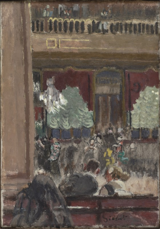 """<span class=""""artist""""><strong>Walter Sickert</strong></span>, <span class=""""title""""><em>Vernet's Dance Hall</em>, 1920</span>"""