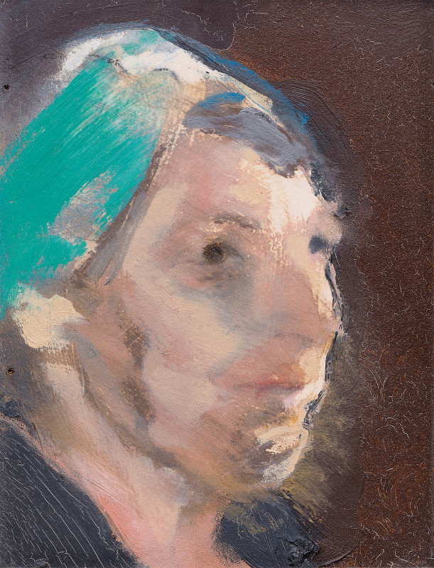 "<span class=""artist""><strong>Michael Andrews</strong></span>, <span class=""title""><em>Study of a Head for a Group of Figures</em>, 1967</span>"