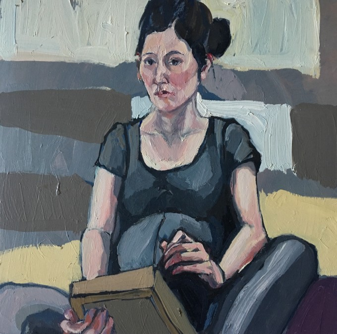 "<span class=""artist""><strong>Elizabeth Shields</strong></span>, <span class=""title""><em>Little Interloper</em>, 2017</span>"