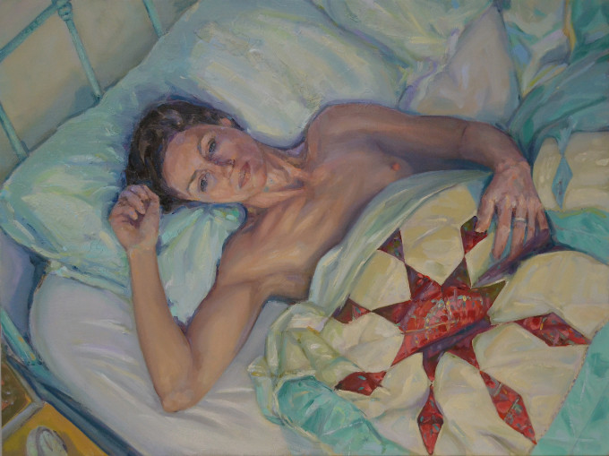 """<span class=""""artist""""><strong>Claire Eastgate</strong></span>, <span class=""""title""""><em>She's Gone</em>, 2017</span>"""