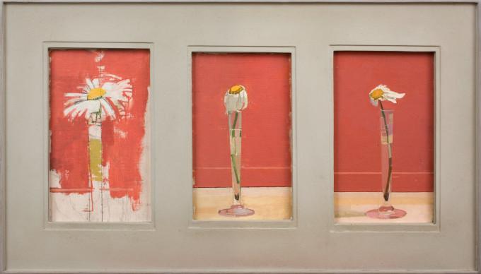 "<span class=""artist""><strong>Euan Uglow</strong></span>, <span class=""title""><em>Daisy Triptych</em>, 1991</span>"