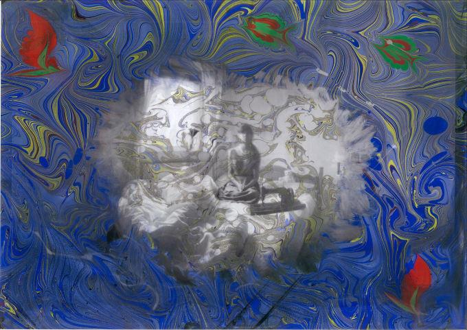 "<span class=""artist""><strong>Sebnem Ugural</strong></span>, <span class=""title""><em>Floating Pinhole Self Portrait</em>, 2017</span>"
