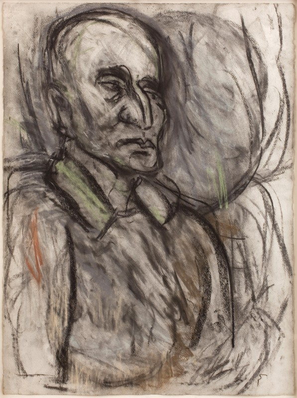 "<span class=""artist""><strong>Leon Kossoff</strong></span>, <span class=""title""><em>Heinz Propper</em>, 1997</span>"