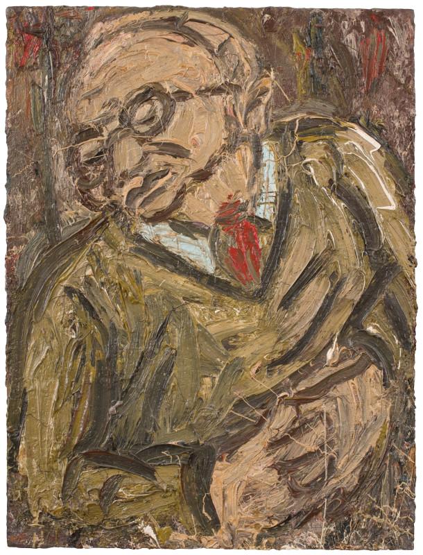 "<span class=""artist""><strong>Leon Kossoff</strong></span>, <span class=""title""><em>Portrait of Chaim II</em>, 1987</span>"