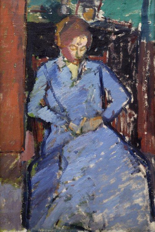The Blue Dress (Sylvia Gilman)