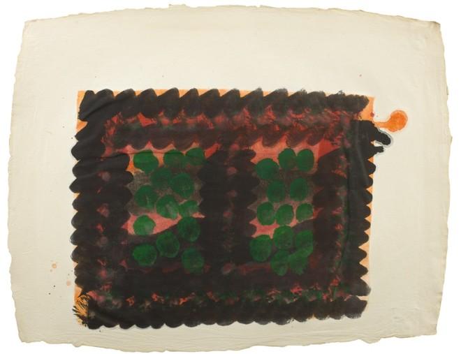 "<span class=""artist""><strong>Howard Hodgkin</strong></span>, <span class=""title""><em>Window (Indian Leaves)</em>, 1978</span>"