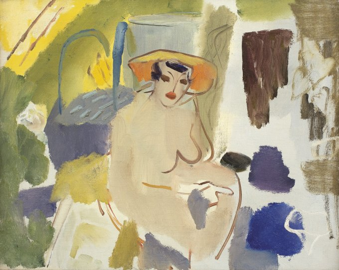 Nude in an Interior - Hampstead