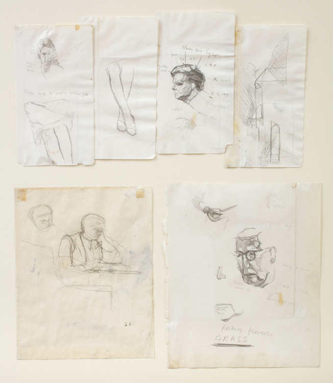 Group of Studies for 'The Family in the Garden'