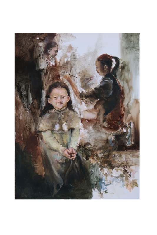 """<span class=""""artist""""><strong>Lucy Li</strong></span>, <span class=""""title""""><em>Memories from the age of five</em>, 2017</span>"""