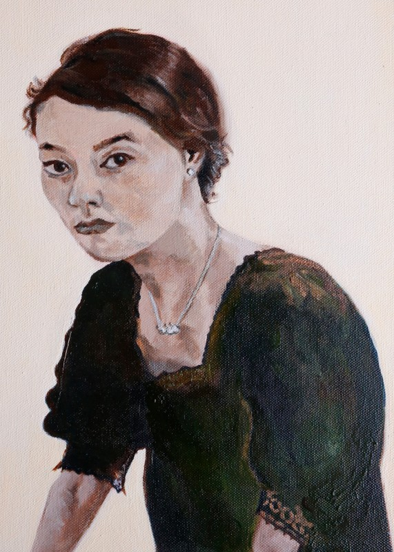 """<span class=""""artist""""><strong>Ivy Lam</strong></span>, <span class=""""title""""><em>Rehearsal for Self Portrait</em>, 2015</span>"""