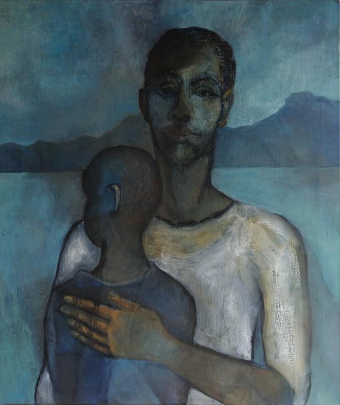 "<span class=""artist""><strong>Sula Rubens</strong></span>, <span class=""title""><em>Self Portrait</em>, 2017</span>"