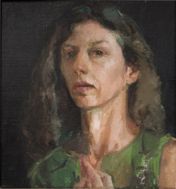 "<span class=""artist""><strong>Illaria Rosselli del Turco</strong></span>, <span class=""title""><em>Self Portrait as the Archer</em>, 2015</span>"