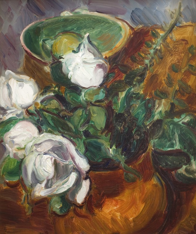 Still Life with White Flowers