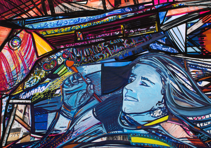 """<span class=""""artist""""><strong>Maria Ines Aguirre</strong></span>, <span class=""""title""""><em>The Music of Colour</em>, 2017</span>"""