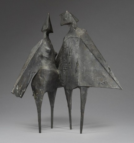 "<span class=""artist""><strong>Lynn Chadwick</strong></span>, <span class=""title""><em>Winged figures II</em>, 1975</span>"