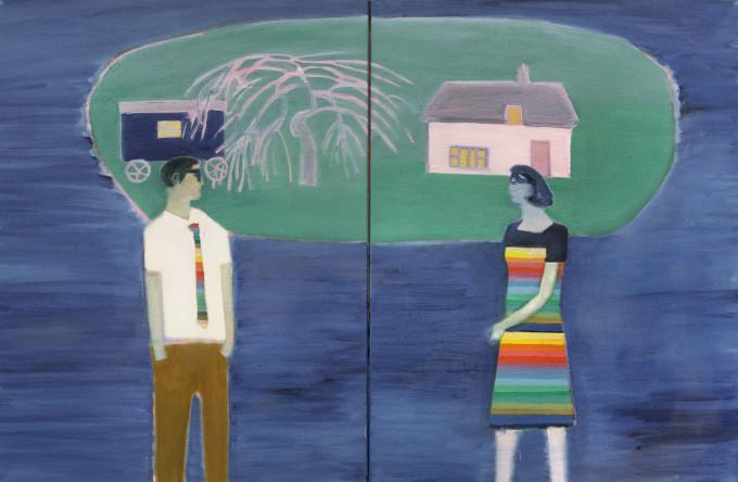 "<span class=""artist""><strong>Tom Hammick</strong></span>, <span class=""title""><em>Floating Island (study)</em></span>"
