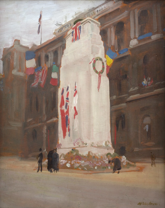 The Cenotaph (Morning of the Peace Procession)
