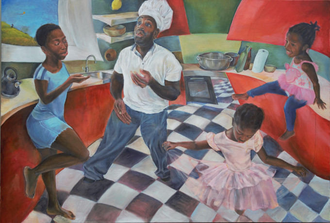 "<span class=""artist""><strong>Michele Opoku-Taylor</strong></span>, <span class=""title""><em>Family Jazz 1</em>, 2017</span>"