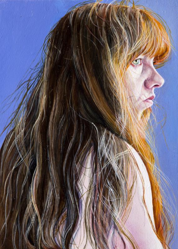 "<span class=""artist""><strong>Ishbel Myerscough</strong></span>, <span class=""title""><em>Self portrait</em>, 2015</span>"