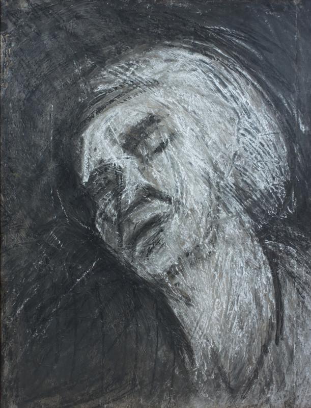 "<span class=""artist""><strong>Leon Kossoff</strong></span>, <span class=""title""><em>Head of Seedo II</em>, 1958 c.</span>"