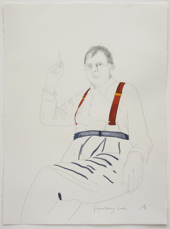 (16) Hockney, 2002