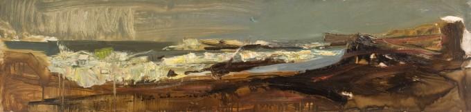 "<span class=""artist""><strong>Joan Eardley</strong></span>, <span class=""title""><em>Catterline Bay</em>, 1957-61 c.</span>"