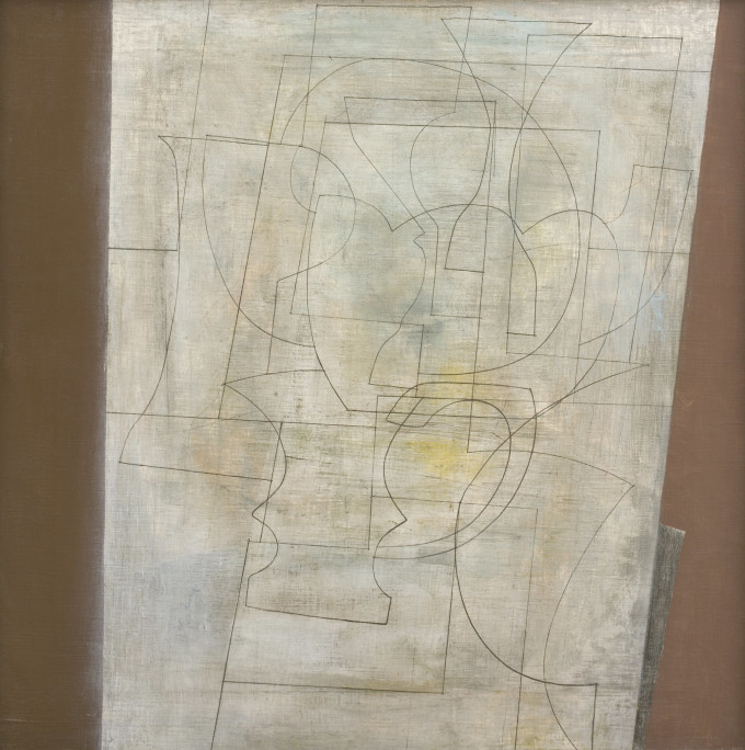 Ben Nicholson, May 1955 (Green Chisel), 1955