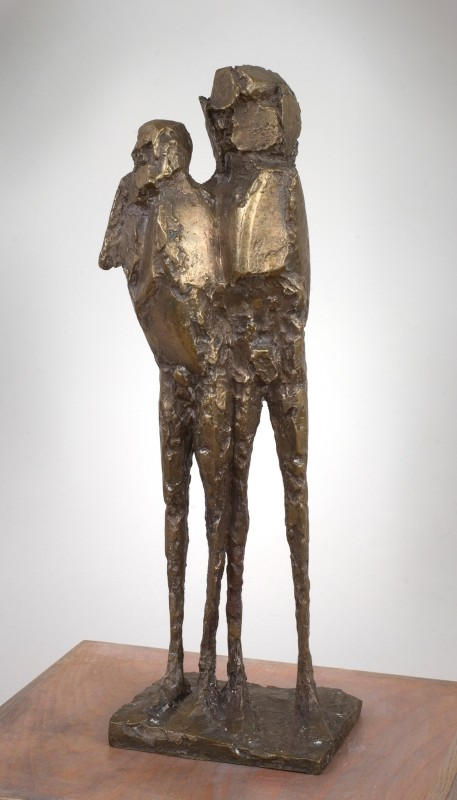 "<span class=""artist""><strong>Elisabeth Frink</strong></span>, <span class=""title""><em>Assassins I</em>, 1963</span>"