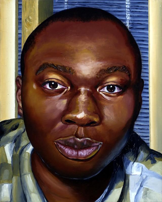 <p>Benjamin Ogbebor,<em>Self-Portrait</em></p><p></p><p>£ 15,000</p>